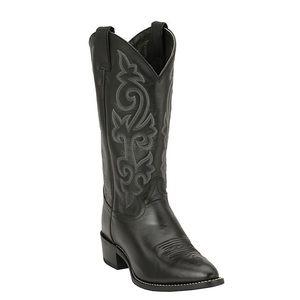 Justin Men's Black London Calf Classic  Boots